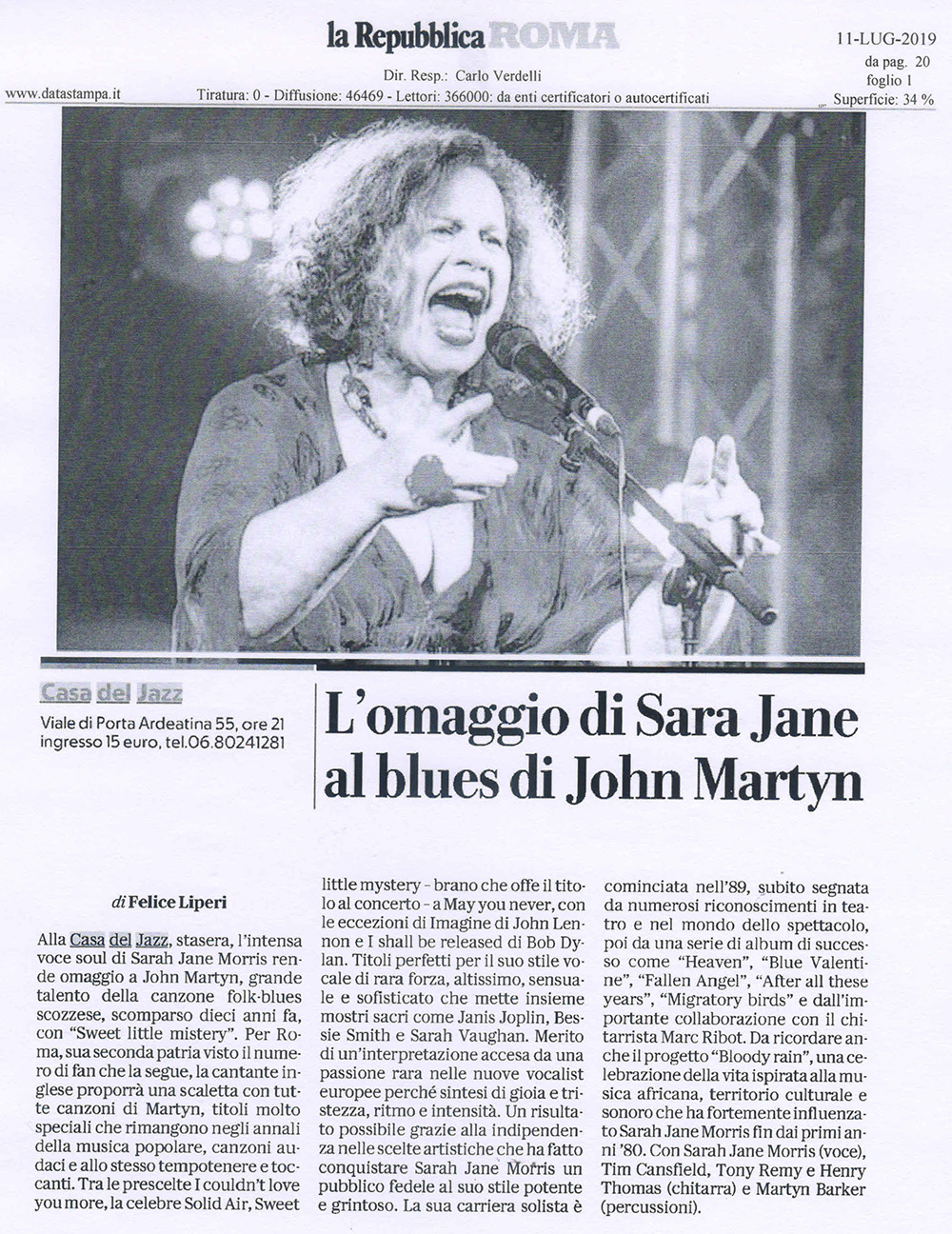 La Repubblica Roma Review