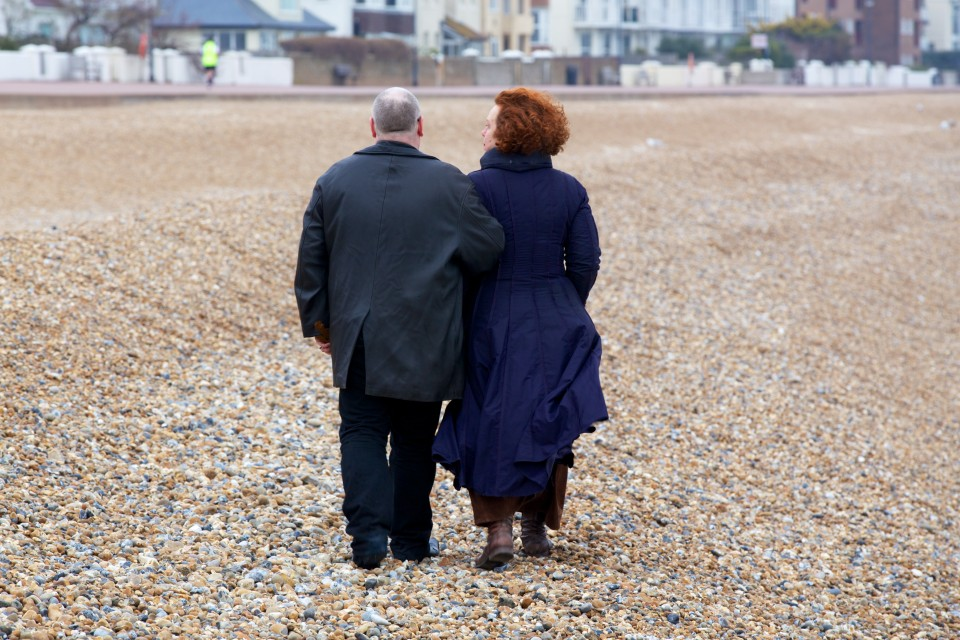 Sarah Jane Morris and Ian Shaw