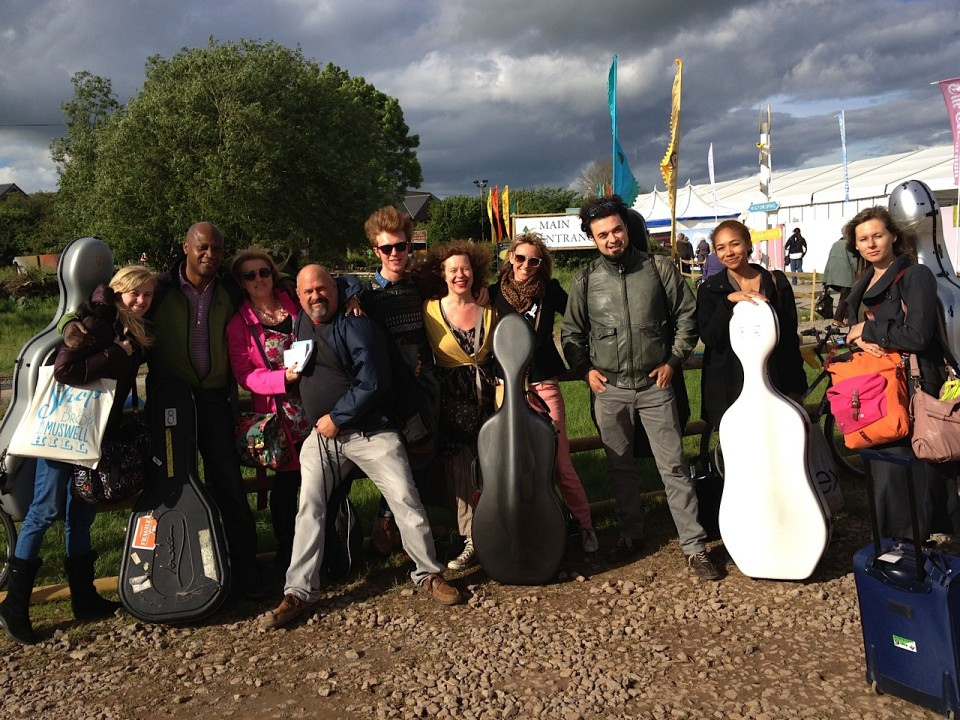Sarah Jane Morris with Enrico Melozzi and her full band perform Cello Songs