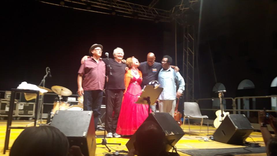 Sarah Jane Morris with Martyn Barker, Henry Thomas, Tony Remy and Tim Cansfield